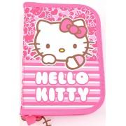 Penar, roz, doua extensii, HELLO KITTY Dungi