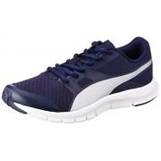 Puma Boy's Flexracer Jr Idp Peacoat and Grey Violet Sneakers - 4 UK/India (37 EU)