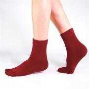 Funq Wear Tåstrumpor Ull Cosy Crimson