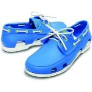 Crocs Boat Shoes For Men(Blue)