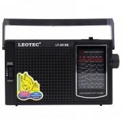 Radio portabil LEOTEC LT-2010 ,11 benzi FM/TV/MW/SW1-9, alimentare 220v si baterii