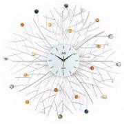 Luxusní obrovské velké hodiny design JVD HJ65 s bar. kamínky - průměr 80cm