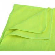 ASUSE Multipurpose Microfibre Cloth for Car Cleaning Kitchen Bike laptop LED TV Mirrors Office Hotels Bathrooms Furniture (parrot Green)