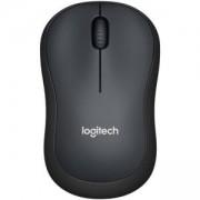 Мишка Logitech, Wireless Mouse M220 Silent, Черна, 910-004881
