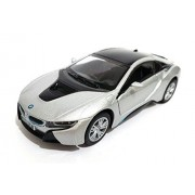 Kinsmart 1:36 Scale BMW I8, Silver