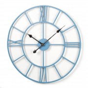 Kave Home Reloj De Pared..., En Metal - Azul