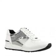 Michael Kors Allie Wrap Trainer leren sneakers wit