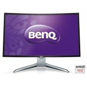 "Monitor VA LED BenQ 31.5"" EX3200R, Full HD (1920 x 1080), HDMI, DisplayPort, Ecran curbat, 4 ms, 144 Hz (Negru/Argintiu)"