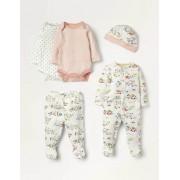 Baby Bunt, Wiesenfreunde 5-teiliges Geschenkset für Neugeborene Baby Baby Boden, 62, Multi