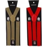 Asraw Y- Back Suspenders for Men(Multicolor)