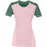 Norrøna Wool T-shirt Women Rosa