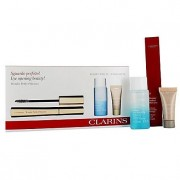 Clarins wonder perfect confezione regalo 7 ml mascara 01 nero + 30 ml instant eye struccante occhi + 5 ml instant correttore