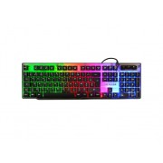 The G-Lab Teclado Gaming THE G-LAB Keyz Neon (Idioma Español - Iluminado)