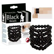 You2Toys Beads Cock Ring Black 0524930
