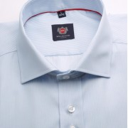 Bărbați cămașă slim fit Willsoor Londra 2201