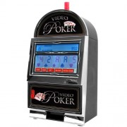 John N. Hansen Company Mega Screen Video Poker with Back-Lit Color LCD Touch-Screen