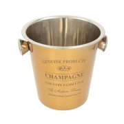 Champagnekoeler Genuine gold