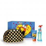 Moschino I Love Love Eau De Toilette 50 ML + Perfumed Body Lotion + Pochette