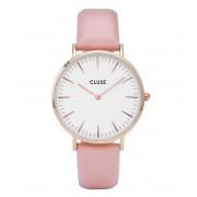 CLUSE Horloges La Boheme Rose Gold Colored White Roze