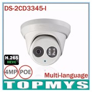 Hik DS-2CD3345-I 1080P Full HD 4MP Multi-language CCTV Camera POE IPC ONVIF IP Camera replace DS-2CD2342WD-I DS-2CD2345-I