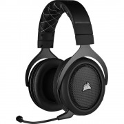 HEADPHONES, Corsair HS70 PRO, Gaming, Wireless, Microphone, Carbon (CA-9011211-EU)