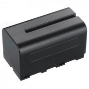DSTE 5000mAh bateria para Sony NP-F750? F730? F790? TRV72? TRV75 - Negro