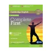 Vv.aa. Complete First Certificate For Spanish Speakers Self-study Pack (stude