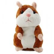 Peluche Hamster Parlant Jouet Enregistrement Répéter Répète Son Parler Enregistrement Jeu Éducatif Pour Enfants Cadeau