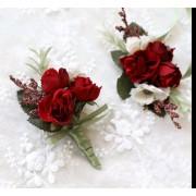Set bratara si flori de pus in piept ARBC008