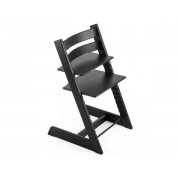 Stokke Chaise haute tripp trapp stokke chêne noir