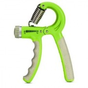 Liboni Adjustable Green Hand Grip and Fitness Grip
