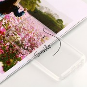 Para Xiaomi Mi 6x / A2 Sonrisa En Relieve Patrón Claro Aceite Suave TPU Protector Nuevo Caso