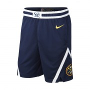 Denver Nuggets Icon Edition Swingman Nike NBA-Shorts für Herren - Blau