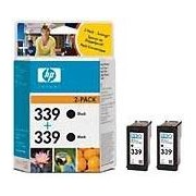 HP 339 2-pack Black Inkjet Print Cartridges (C9504EE)
