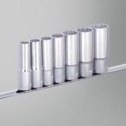 Unior Assortiment Slagdoppen Unior Met Houder Lange uitvoering 7-Delen - Niet gespecificeerd