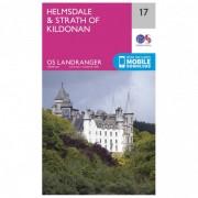 Ordnance Survey Helmsdale / Strath Of Kildonan Carta escursionistica