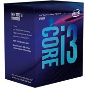 Procesor Intel Core i3-8100 (Quad Core, 3.60 GHz, 6 MB, LGA1151 CL) box
