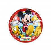 8 Farfurii Mickey Mouse Playful Party - 20 cm