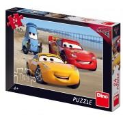 PUZZLE - CARS 3 LA MARE (24 PIESE) - DINO TOYS (351585)