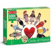 Puzzle Copiii lumii100 piese Melissa and Doug