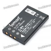 ISmart NP-60 LI-20B Bateria 3.7V 1000mAh para Fujifilm PinePix 50i / 604 / Olympus AZ1 / AZ-2 + Mas