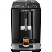 Espressor automat Bosch TIS30129RW, 1300W, 15 Bar, 1.4 l, Rasnita ceramica, dispozitivul spumare lapte MilkMagic Pro, Negru