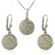 MHM Set bijuterii Bile Crystal M5 AB 34159