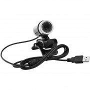 ER 12M Píxeles Cámara HD Micrófono Incorporado Webcam Para Ordenador Portátil CMOS -Negro