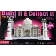 Build It and Collect It Taj Mahal 3D Puzzle