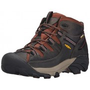 KEEN Men's Targhee II Mid Waterproof Hiking Boot Raven/Tortoise Shell 10.5 D(M) US
