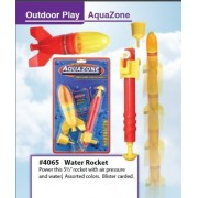 AQUA LAUNCH Water Powered SPACE ROCKET kids TOY NEW [Toy] (2-Pack)