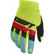 Shift WHIT3 Air Motocross handskar Gul XL