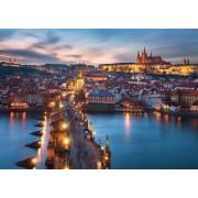 Puzzle Ravensburger - Praga Noaptea, 1000 Piese