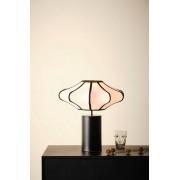 MARGAUX bordslampa Svart/vit